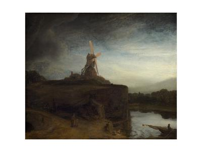 The Mill, C. 1645-48-Rembrandt van Rijn-Giclee Print