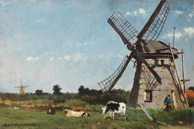 The Mill, Ca. 1873-Jan Hendrik Weissenbruch-Giclee Print