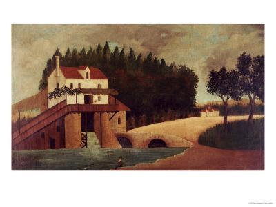 The Mill, circa 1896-Henri Rousseau-Giclee Print