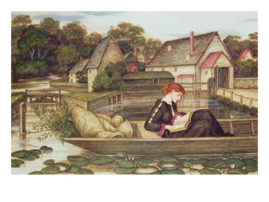The Mill-John Roddam Spencer Stanhope-Giclee Print
