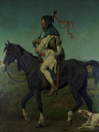 The Miller from Chaucer's 'Canterbury Tales', 1878-John Brett-Giclee Print
