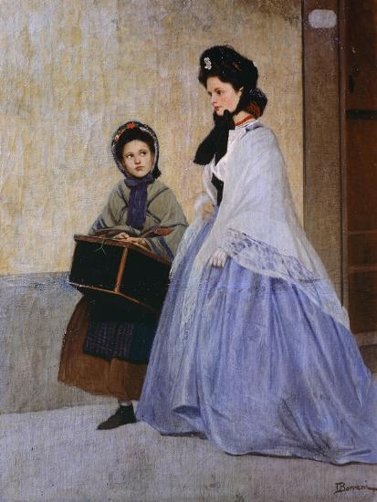 The Milliner-Odoardo Borrani-Giclee Print