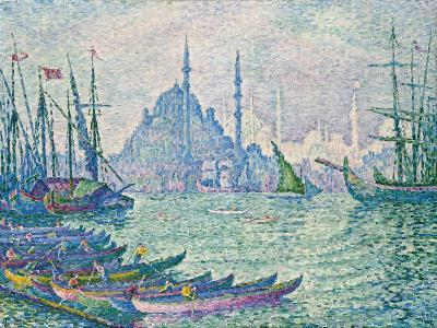The Minarets at the Golden Horn; La Corne D'Or, Les Minarets, 1907-Paul Signac-Giclee Print