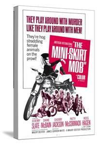 THE MINI-SKIRT MOB, Diane McBain (on motorcycle), 1968
