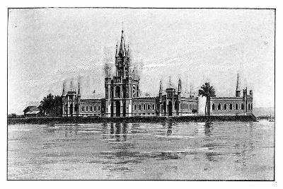 The Miniature Palace on Fiscal Island, Guanabara Bay, Brazil, 1895--Giclee Print