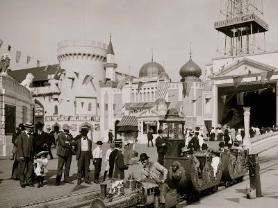 The Miniature Railway, Coney Island, N.Y.--Photo