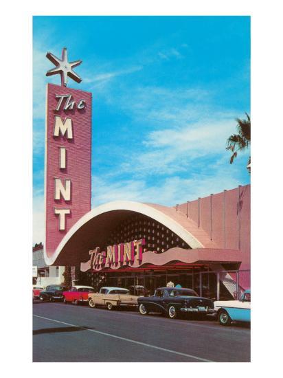 The Mint Hotel, Las Vegas, Nevada--Art Print