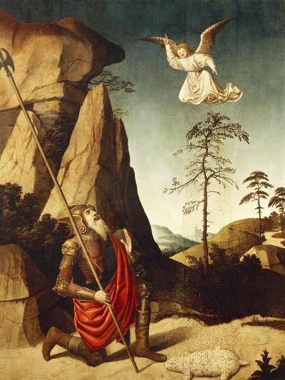 The Miracle of Fleece of Gideon, 1500-Nicolas Dipre-Giclee Print