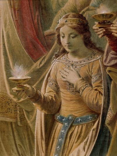 The Miracle of the Grail, from the Lohengrin Saga, Salon-Wilhelm Hauschild-Giclee Print