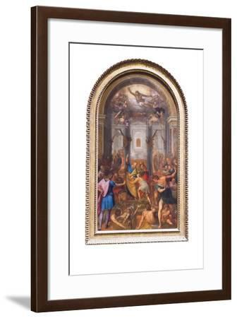 The Miracle of the Shadow of Peter--Framed Giclee Print