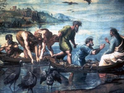 The Miraculous Draught of Fishes, 1515-Raphael-Giclee Print