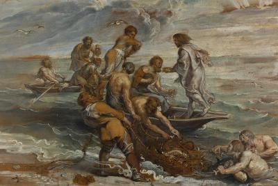 The Miraculous Draught of Fishes, 1618-1619-Peter Paul Rubens-Giclee Print