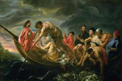 The Miraculous Draught of Fishes, C.1640-Jacob Jordaens-Giclee Print