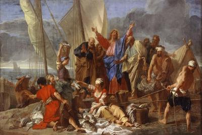 The Miraculous Draught of Fishes-Jean Jouvenet-Giclee Print