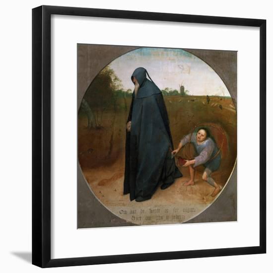 The Misanthrope (The Faithlessness of the World)-Pieter Bruegel the Elder-Framed Giclee Print