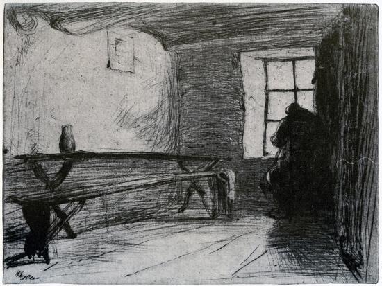 The Miser, C1851-James Abbott McNeill Whistler-Giclee Print