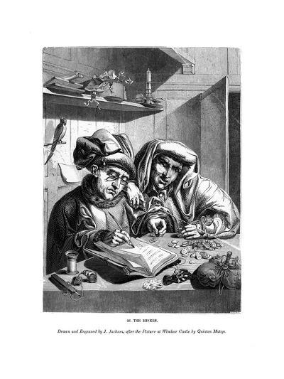 The Misers, C1480-1530-J Jackson-Giclee Print