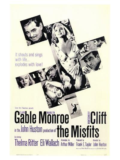 The Misfits, 1961--Art Print