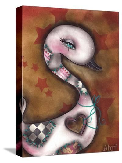 The Missing Piece-Abril Andrade-Stretched Canvas Print