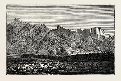 The Mission to Yarkund and Kashgar: Palace and Convent of Lamas, Near Leh--Giclee Print