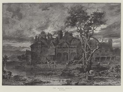 The Moated Grange--Giclee Print