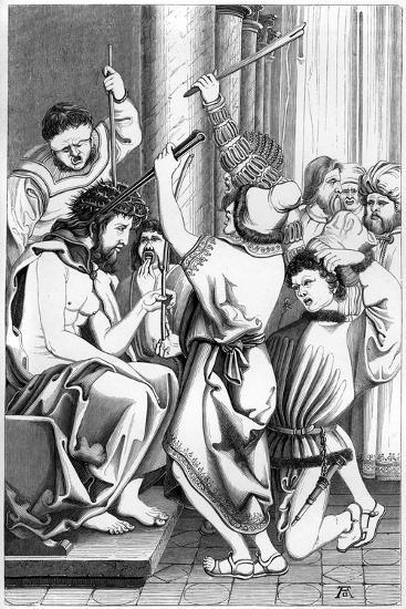 The Mocking of Christ, 16th Century- Cottard-Giclee Print