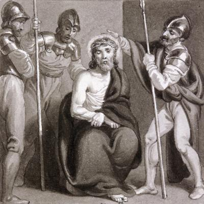 The Mocking of Christ, C1810-C1844-Henry Corbould-Giclee Print