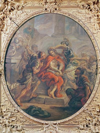 The Mocking of Christ-Jean-Honore Fragonard-Giclee Print