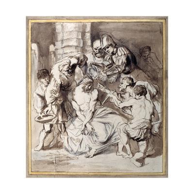 The Mocking of Christ-Sir Anthony Van Dyck-Giclee Print