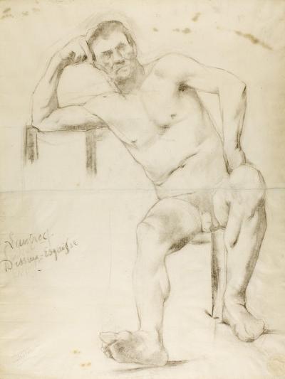 The Model Nizzavena, C. 1882-83-Henri de Toulouse-Lautrec-Giclee Print