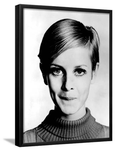 The Model Twiggy in 1967--Framed Photographic Print