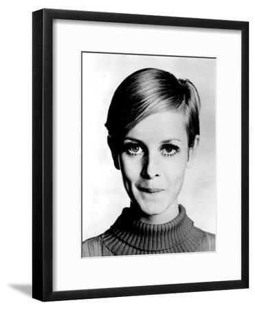 The Model Twiggy in 1967--Framed Photo
