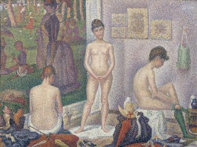 The Models, 1888-Georges Seurat-Giclee Print