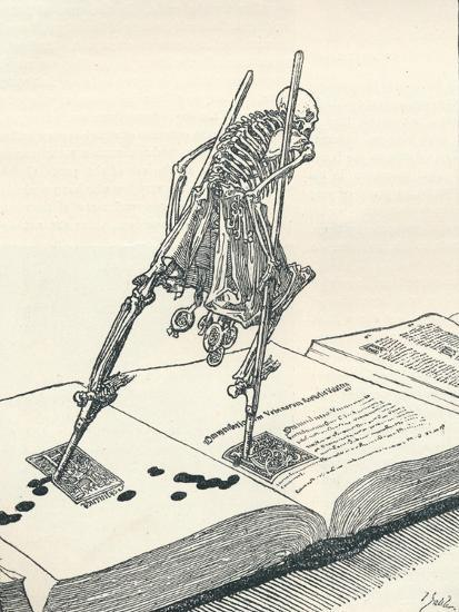 The Modern Dance of Death, C1895-Joseph Kaspar Sattler-Giclee Print