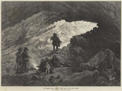 The Modoc War, Captain Jack's Cave in the Lava Beds--Giclee Print