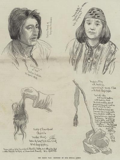 The Modoc War--Giclee Print
