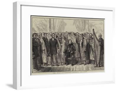 The Mold Eisteddfod, Chairing the Bard-Joseph Nash-Framed Giclee Print