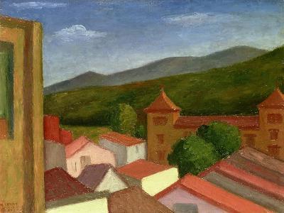 The Monastery, 1934-Mark Gertler-Giclee Print