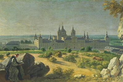 The Monastery of El Escorial-Miguel Angel Houasse-Giclee Print