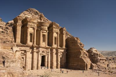 The Monastery, or Al Deir, in Petra-Michael Melford-Photographic Print