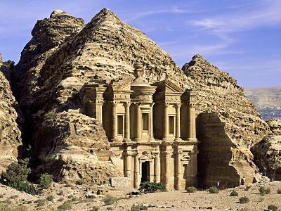 "The ""Monastery"" Petra, Jordan-Paul Kay-Photographic Print"