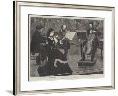 The Monday Popular Concerts--Framed Giclee Print