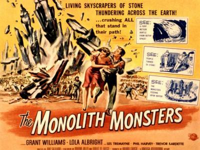 The Monolith Monsters, Grant Williams, Lola Albright, 1957--Photo