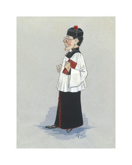 The Monseignor-Simon Dyer-Premium Giclee Print