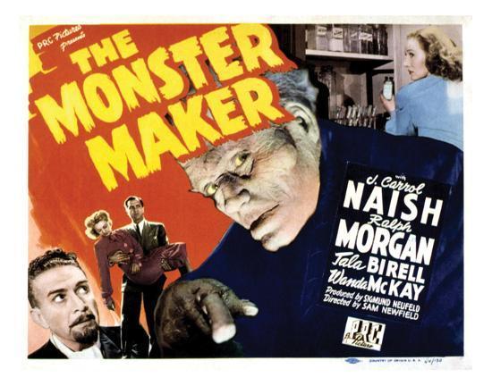 The Monster Maker - 1944--Giclee Print