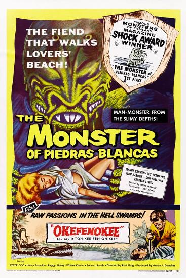 The Monster of Piedras Blancas--Art Print