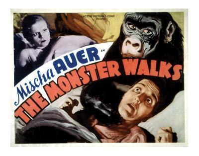 The Monster Walks - 1932 II--Giclee Print