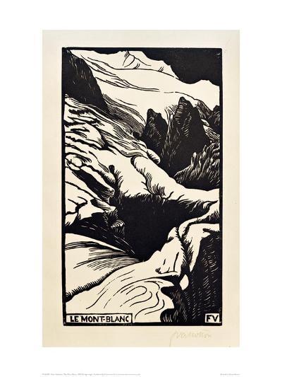 The Mont Blanc-F?lix Vallotton-Giclee Print