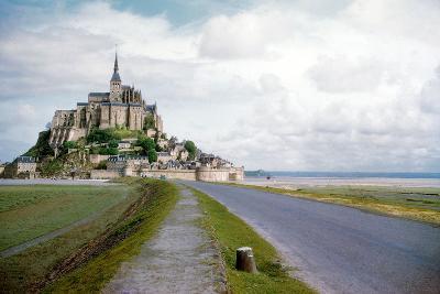 The Mont Saint Michel, France--Photo