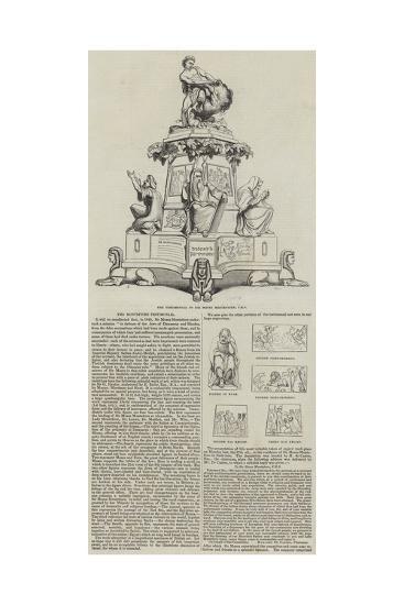 The Montefiore Testimonial--Giclee Print